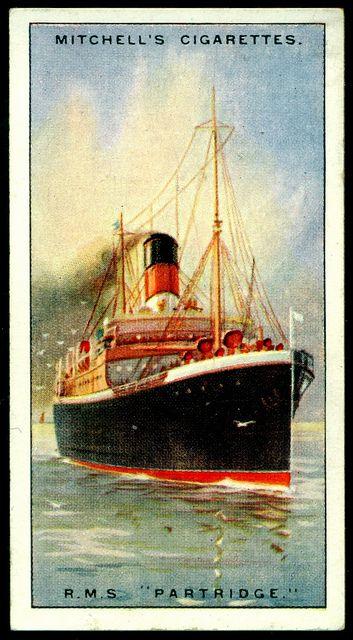 Cigarette Card - R.M.S. Partridge | Flickr