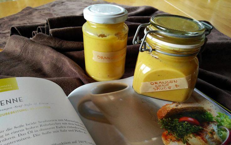Orangen-Senf-Sauce von Hans im Glück - RAWR BRGR - Dein Burgerblog.
