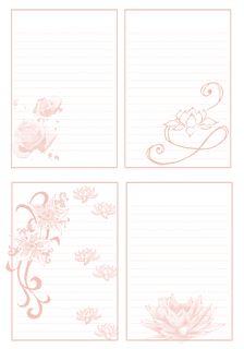 *Моими руками* by Ludmila Shipilova: На заметку.Шаблоны листов для блокнота.