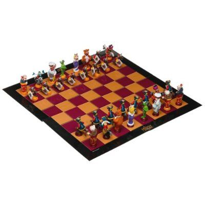 I want a Muppets chess set!!