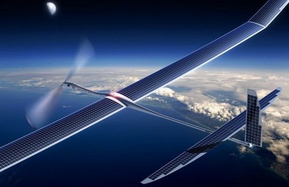 Alphabet and Facebook's Stratospheric Internet Plans Get Tangled in High-Altitude Red Tape