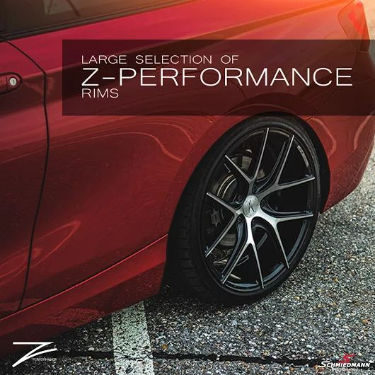 Do you want to be cruising around in rusty old steel rims this summer? No right? Get a set of Z-Performance rims here http://goo.gl/UahQEY #schmiedmann #bmwspecialist #bmw