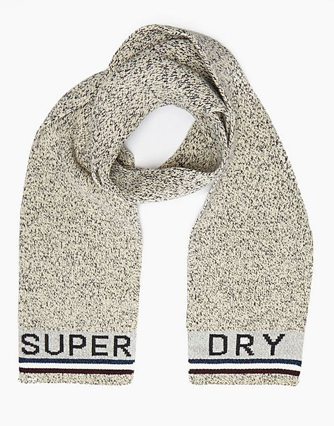 #ARKMENS superdry aw15 - perfect gifting pieces  Superdry Logo Knitted Scarf