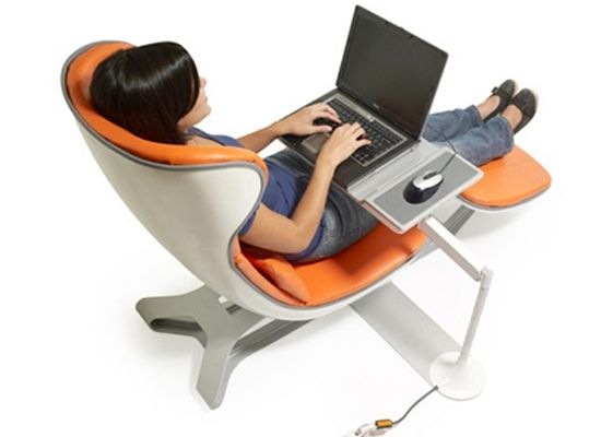 The daybed modern office chair looks pretty comfortable for Modern comfy chairs