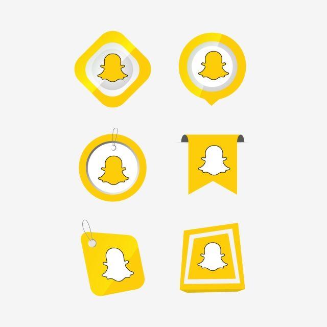 Snapchat Snap Chat Icon Logo Collection Set Social Media Vector Illustrator Snapchat Icons Snapchat Icons Social Icons Chat Icons Png And Vector With Transpa Snapchat Icon New Instagram Logo Social Icons