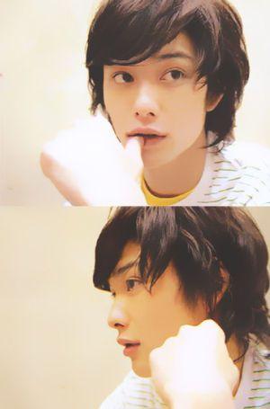 I think I fell in love with Masaki Okada