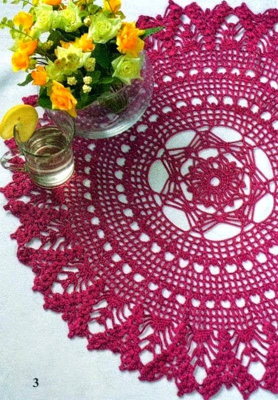Crochet Knitting Handicraft: crochet doilies