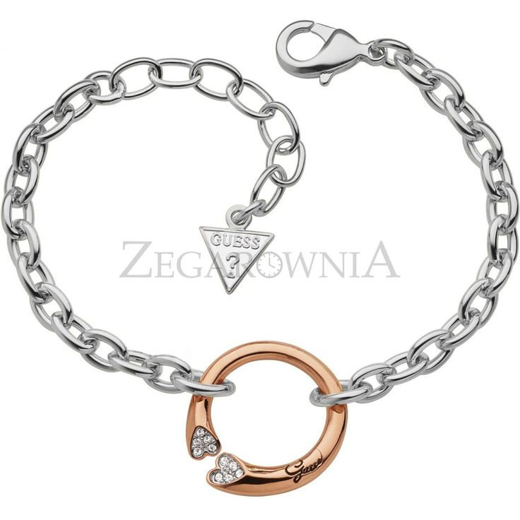 BRANSOLETA GUESS RINGS OF LOVE http://zegarownia.pl/bransoleta-guess-ubb11469