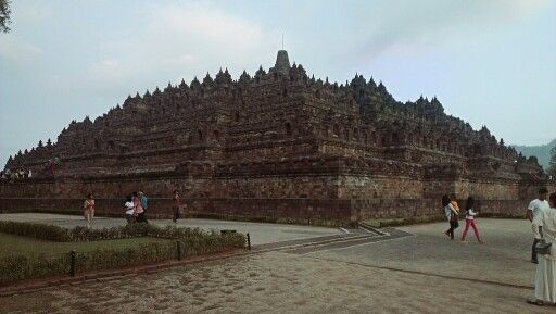 The Borobudur. The Temple.