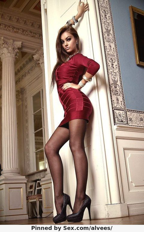 Heels pantyhose high russian girls