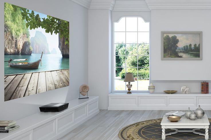 Sim2 xTV, rétro-vidéoprojecteur de luxe à ultra-courte focale, encastrable jusqu'à l'invisible ou presque