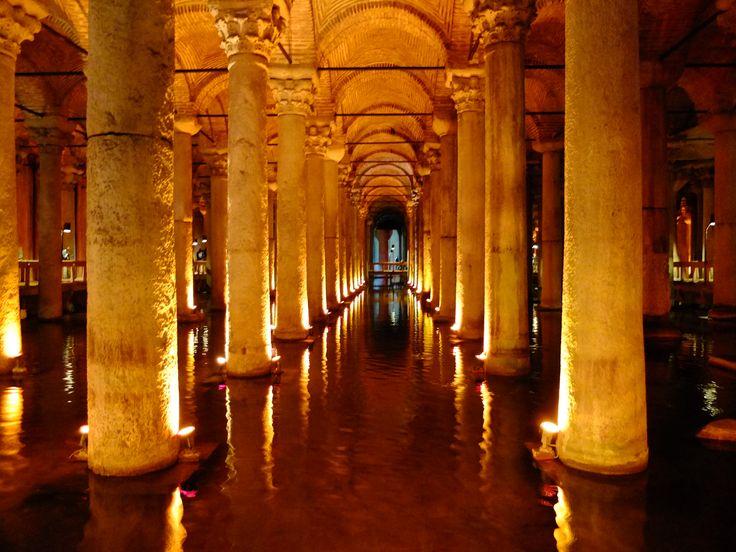 Cisterna basilica - Istanbul