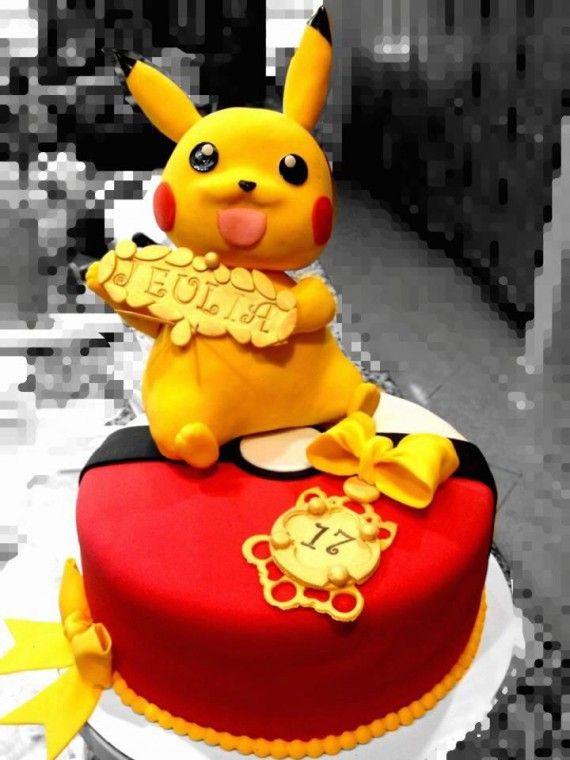 Les plus beaux gâteaux geeks - Pokémon