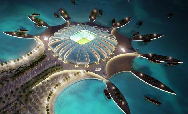 Galería con los estadios que veremos en la #FIFAWorldCup Qatar 2022. Impresionante.