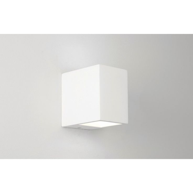 Astro Lighting 0813 Mosto Wall Light in White Plaster | Astro Wall Lighting | Arrow Electrical