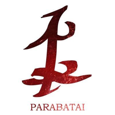 Parabatai Rune. / par de guerreros Nephilim que luchan juntos como compañeros para toda la vida