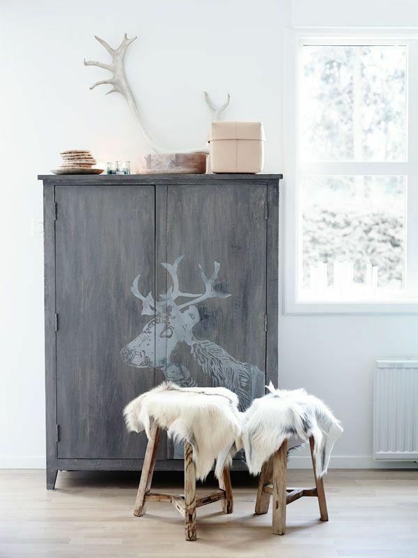 Traditionell skandinavisch Wohnen