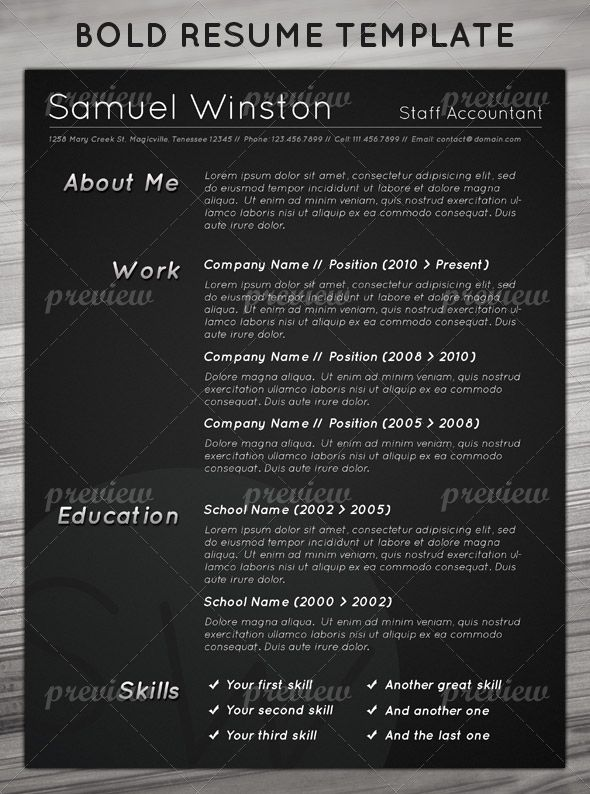 76 best Resume Ideas images on Pinterest Resume ideas, Resume - ideas for resume