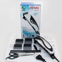 Cuidados Com Os cabelos! Novo Cabelo Clippers Trimmer Crianças/Adulto Haircut Máquina Barber Styling Ferramentas de aço inoxidável de Viagens em Família alishoppbrasil