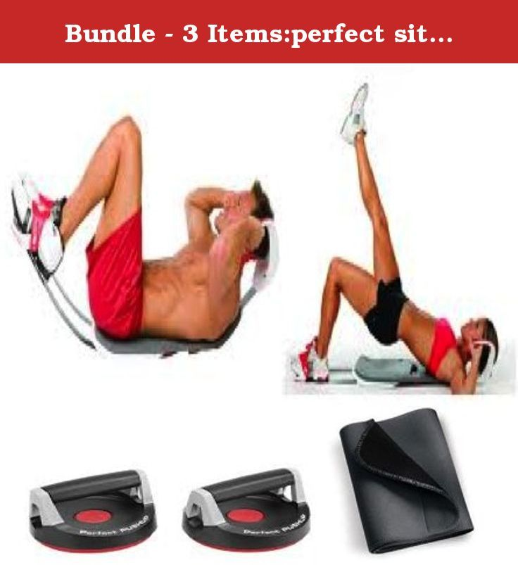 Bundle - 3 Items:perfect sit up, perfect pushup basic, waist trimmer. This is a 3 piece bundle that includes: the perfect sit up, perfect pushup basic, waist trimmer.Perfect sit up ergonomically designed neck support for proper spine alignment and for minimum neck strain, and it is easy to store.The perfect pushup basic has unique rotating handles help reduce joint strain and engage more muscle, workouts customized for beginner to advanced levels.The waist trimmer is meant to reduce waist...