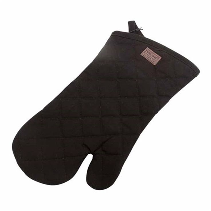 Baccarat Kitchen Oven Glove Black   Oven Mitts & Trivets - House