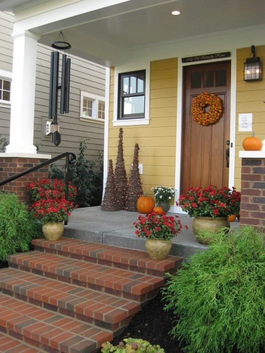 red brick cottage michele did this house for country sampler exterior house colorsexterior - Best Exterior Paint Colors With Brick
