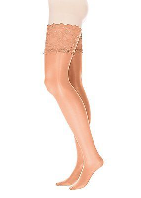 XX-Large, Braun (Make Up), GLAMORY Women'sfort Hold-Up Stockings, 20 Den NEW