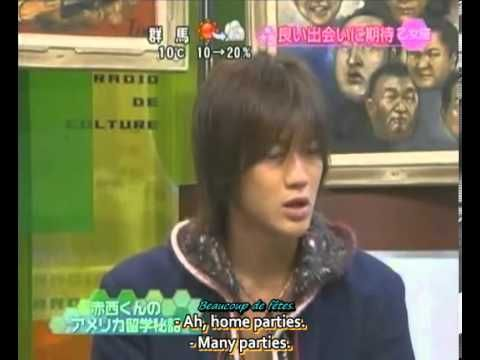 ( VOSTFR) Akanishi Jin interview in Rajikaru 2007 par 2