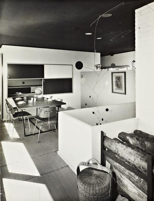 Marcel Breuer (1902-1981)   Stillman House I   Litchfield, Connecticut   1950-51   Photo: Ben Schnall   Source: Marcel Breuer Digital Archive