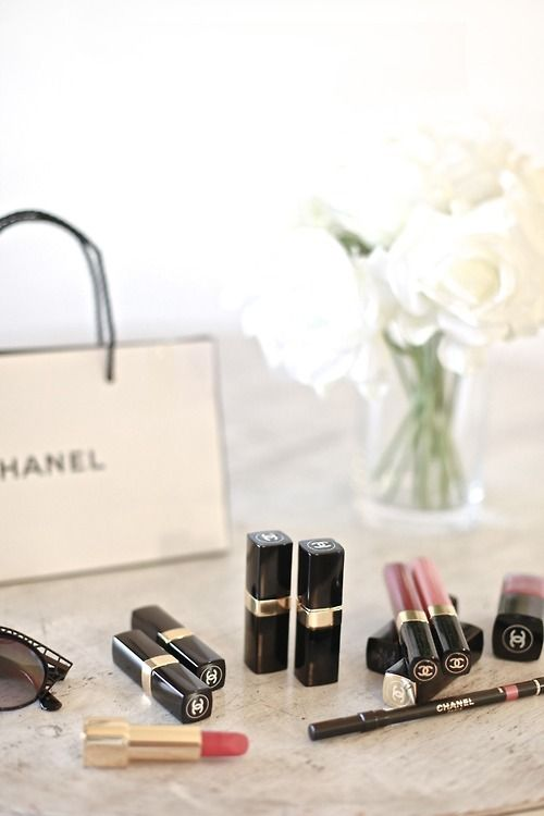 Vanity with Chanel