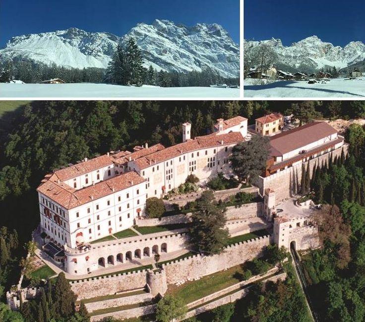 Ecco cosa potete trovare a pochi chilometri da #CastelBrando..le magnifiche #Dolomiti con #Cortina! #visitveneto #castello #castle #cisondivalmarino