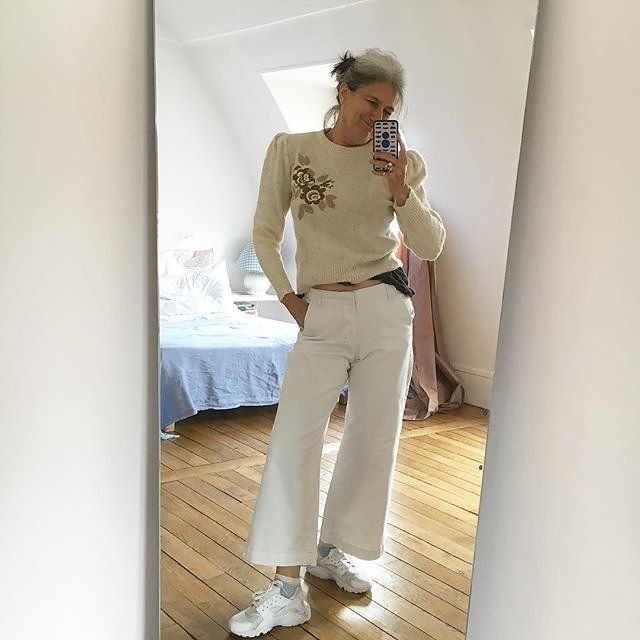 9 Steps to Style Superstardom by a 54-Year-Old French Instagram Sensation - http://www.vogue.com/13446528/sophie-fontanel-instagram-personal-style/