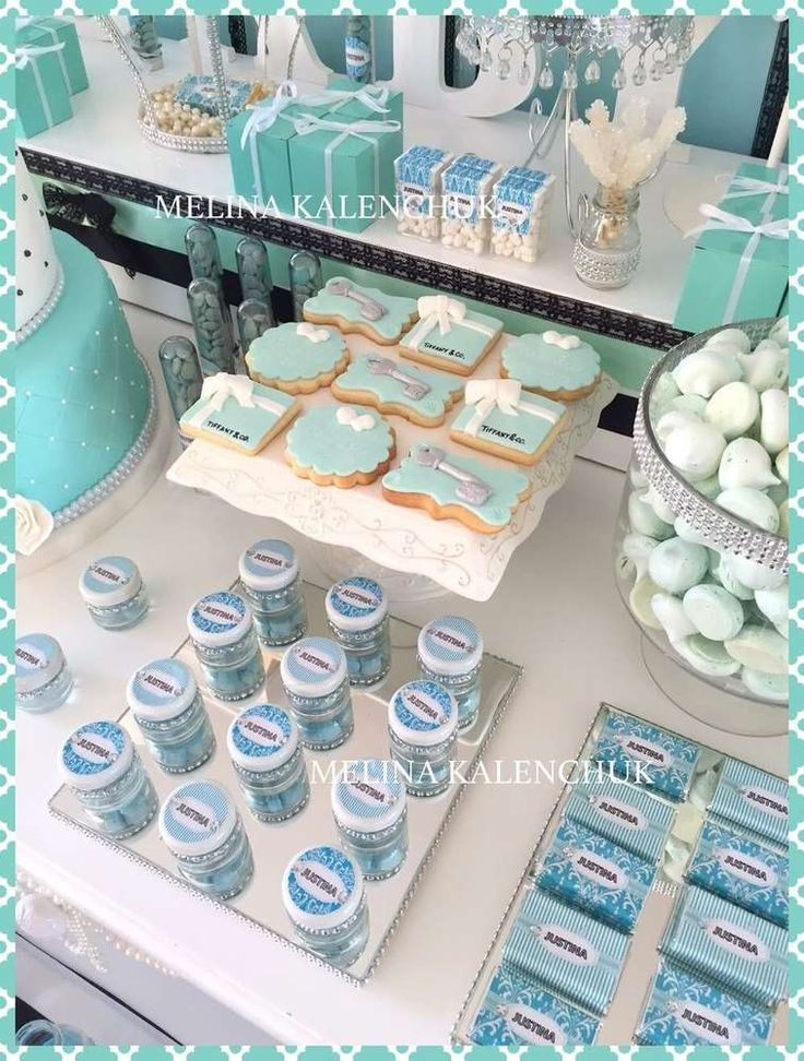 Tiffanyu0027s Baby Shower Party Ideas