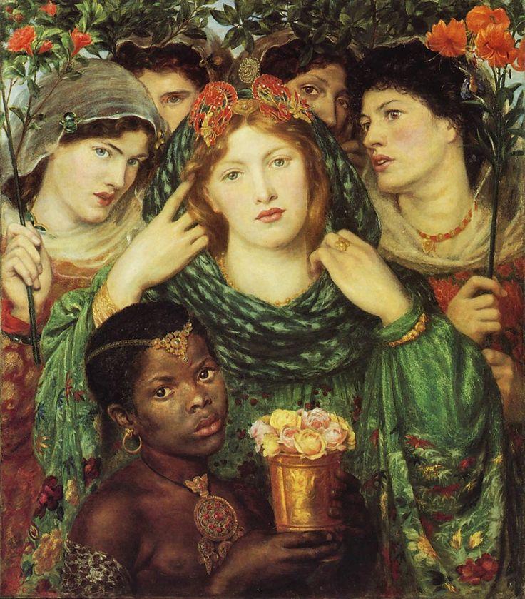 Dante Gabriel Rossetti | Love's Testament / Testamento d'amore | Tutt'Art@ | Pittura • Scultura • Poesia • Musica