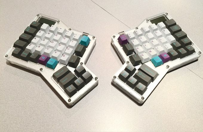 HyperDox: GMK Hyperfuse with Infinity Ergodox and 78g Zealios