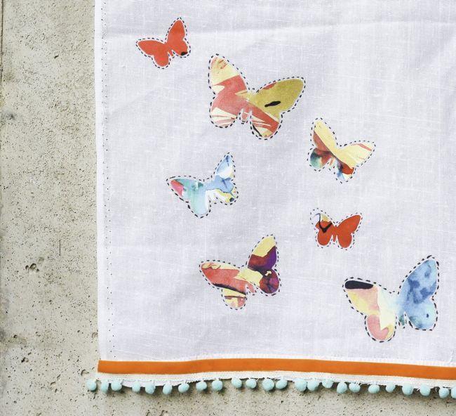 No Sew DIY Tea Towel