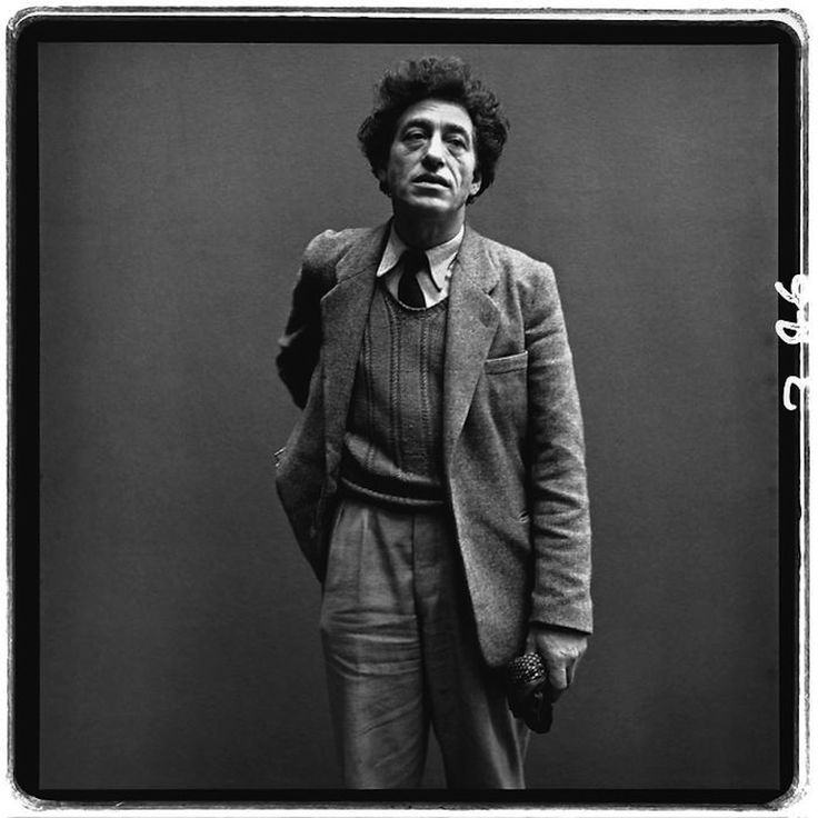 Alberto Giacometti by Richard #Avedon