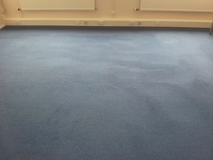office carpet post cleaning