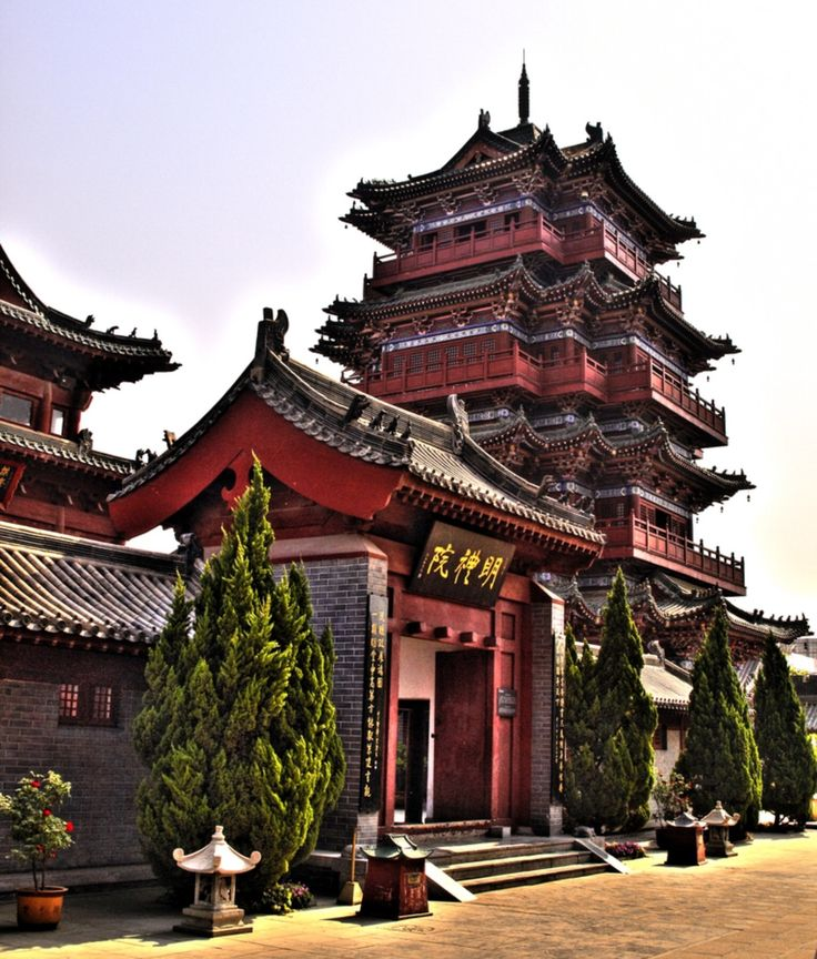 Kaifeng, Henan province, People's Republic of China. It was once the capital of the Northern Song Dynasty.