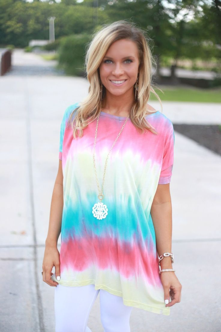 17 best images about piko tops on pinterest hot pink for Order tie dye roses online