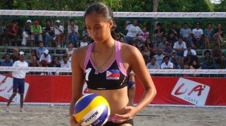 PH beach volleyball squad sees action at Olympic qualifying event | Pinoy Headline dot Com