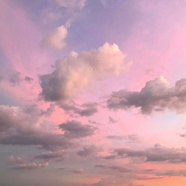 Pin By Pul On Aesthetic Sky Aesthetic Clouds Pink Sky