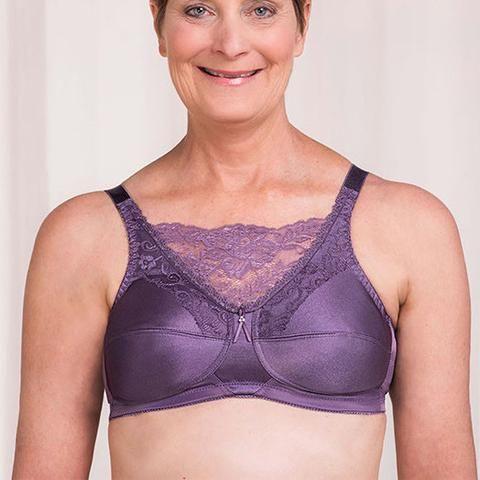 Trulife Jessica Mastectomy Camisole bra - Amethyst
