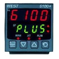 West P6100 1/16 Din Process Controller     -  Jumperless Configuration  -  Auto or Manual Tuning  -  Heat/Cool Operation  -  Process & Loop Alarms  -  Modbus & ASCII Comms  -  Remote/Dual Setpoint Option