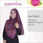 Hijab Segi Empat Grafity Pasmira