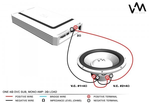 how to wire dual voice coil  subwoofer wiring subwoofer