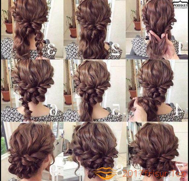 Hochsteckfrisuren Anleitung Mit Locken Haarschnitte Und Frisuren Trends 2019 Hochsteckfrisuren Lange Haare Hochsteckfrisur Frisur Hochgesteckt