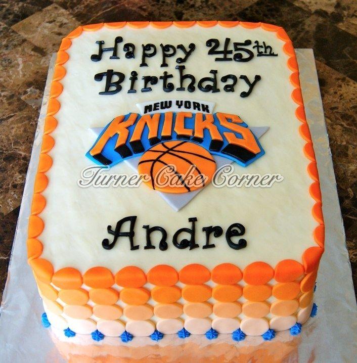 Knicks Birthday Cake