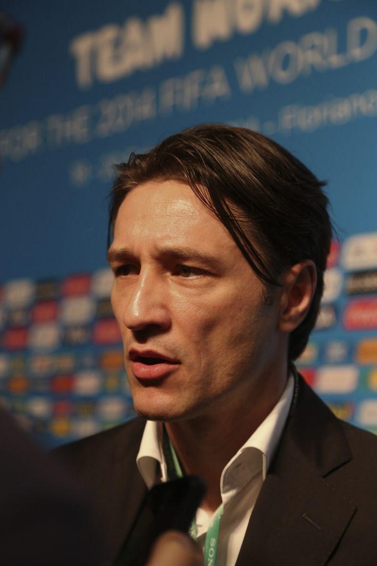 Niko Kovac, director técnico de la Selección fútbol de #Croacia. Foto: EFE.