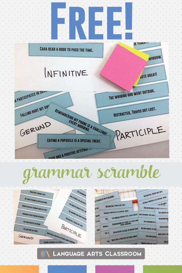 51 best Grammar for Middle School images on Pinterest | Middle ...